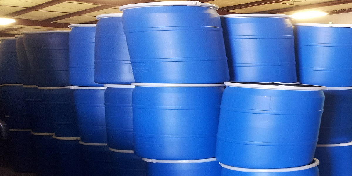 Reconditioned Poly Drums Reconditioned Open Top Drums