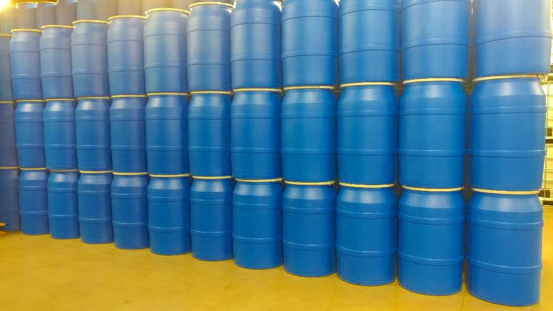 Tags Reconditioned 55 Gallon Open Head Poly Drums Used Drum Food Grade Recycled