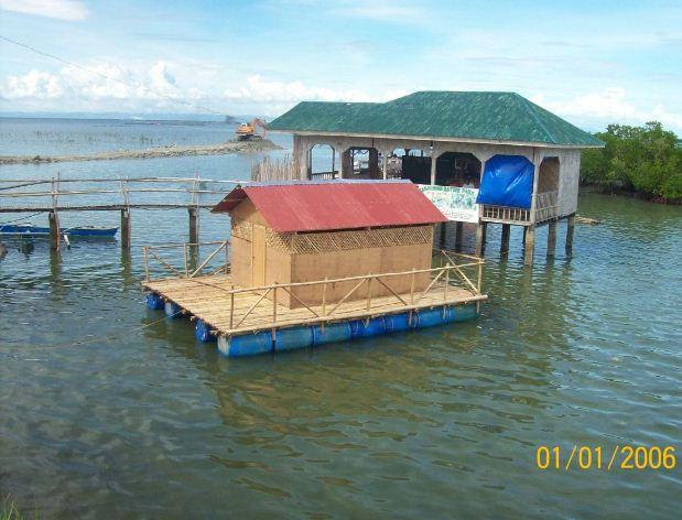 Homemade boat dock plans barrels