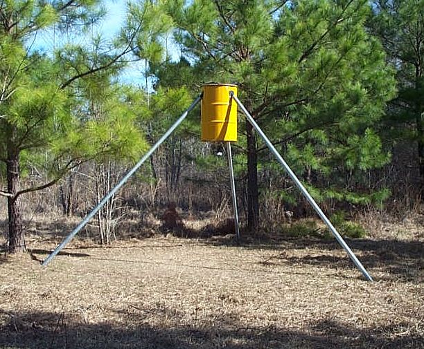 how plans man to mans make poorman s featured feeder a poor gravity deer