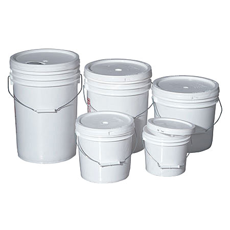 food grade pails - food grade buckets - 6.5 gallon food grade pails