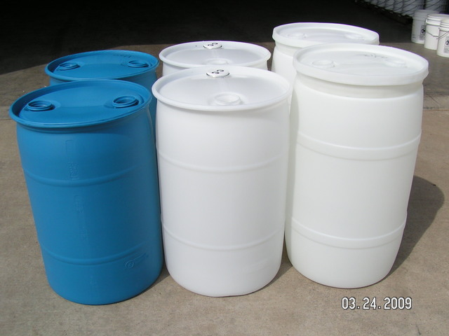 Reconditioned Poly Drums Reusable Recycled 55 Gallon Food Grade Head Plastic