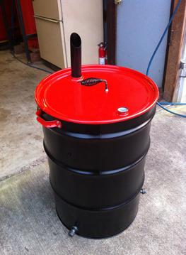55 gallon plastic drum projects
