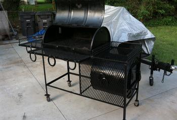 made from 55 Gallon Steel Drums. Custom Cut Out Burn Barrel. made from 55 Gallon ...