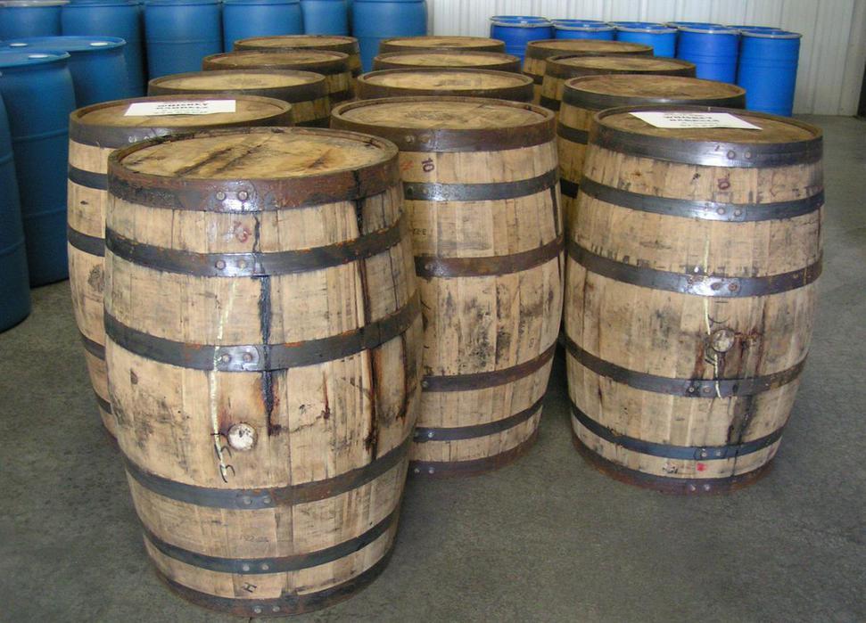 White Whiskey Barrel ~ Whiskey barrel for sale barrels
